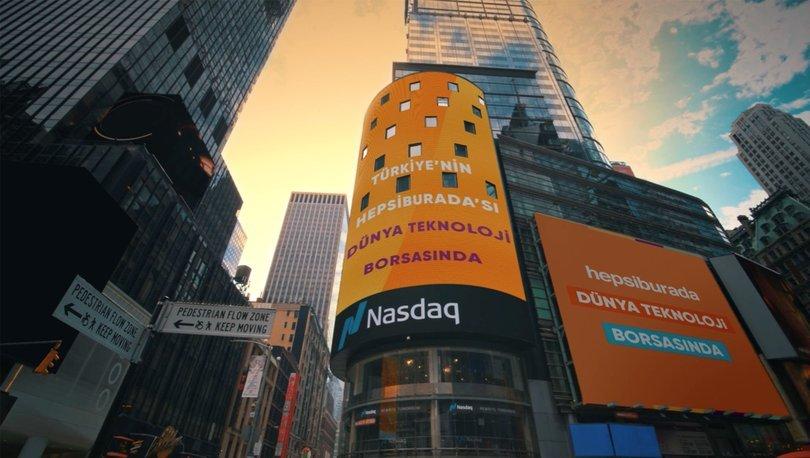 İşte Hepsiburada'nın NASDAQ'taki ilk günü! Haberler