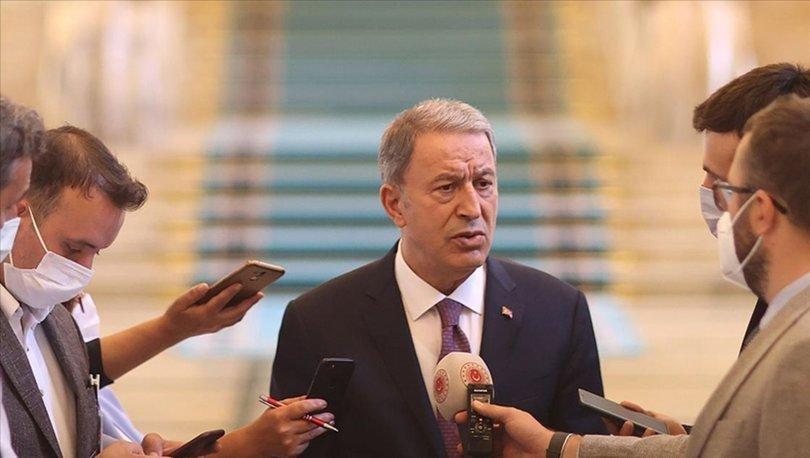 SON DAKİKA: Milli Savunma Bakanı Akar'dan Afganistan açıklaması!