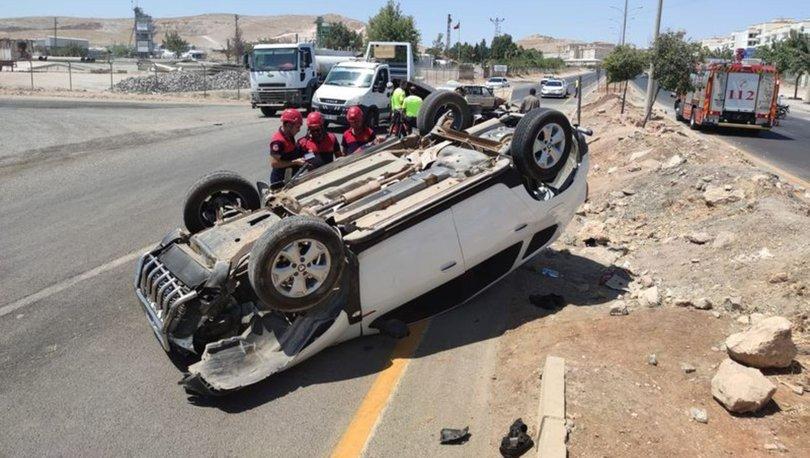KORKUNÇ KAZA! Şanlıurfa'da otomobiller çarpıştı: 9 yaralı - Haberler