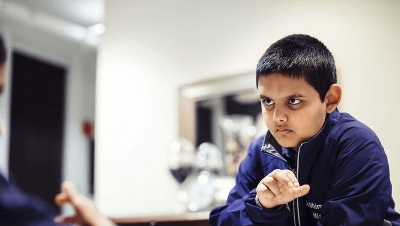 Sadece 12 yaşında: Abhimanyu Mishra, satranç tarihinin en genç büyük ustası