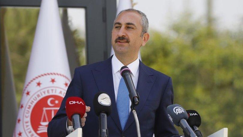 Son dakika: Adalet Bakanı Gül: Faile değil, fiile bakarak karar verin