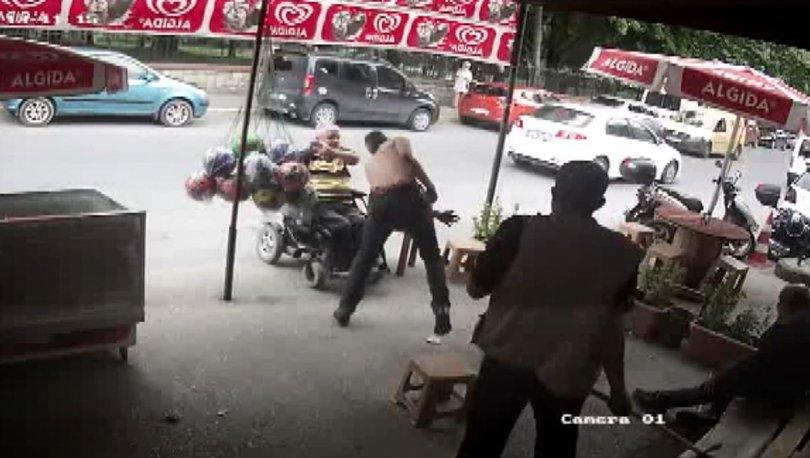 KORKUNÇ OLAY! Son dakika: Engellilere sopayla saldırdı! - Haberler