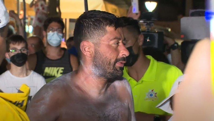 Maltalı yüzücü hiç durmadan 125,6 kilometre yüzdü