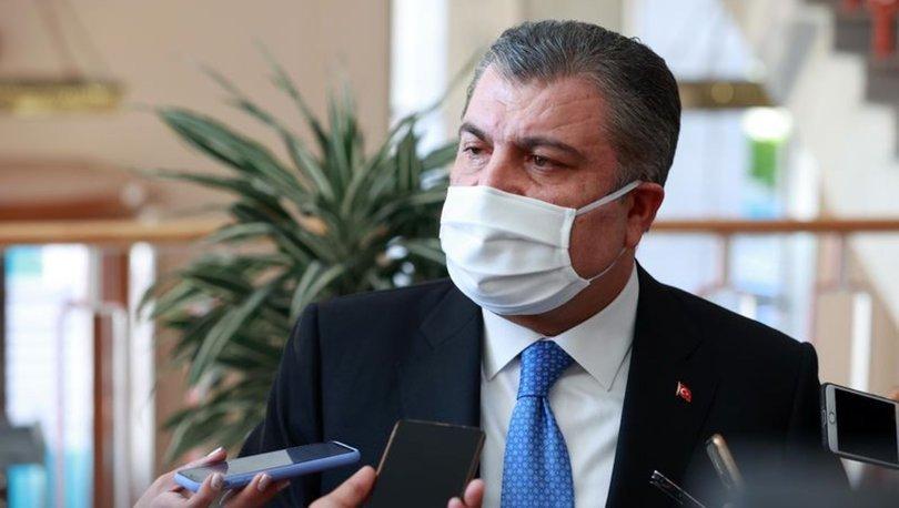 Sağlık Bakanı Fahrettin Koca: Bugünkü 1 Milyonuncu doz aşı...