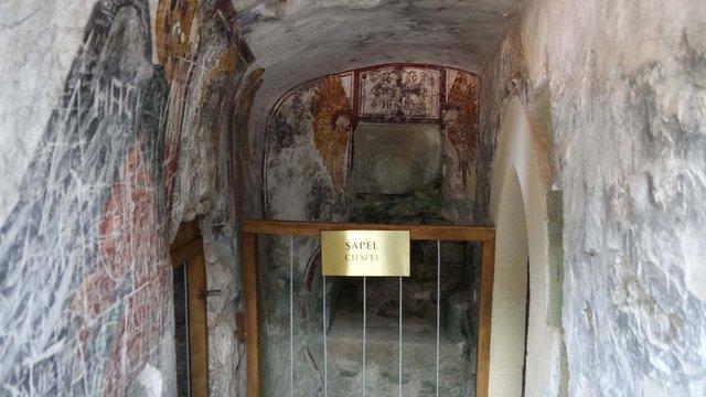 Sümela Manastırı´nda saklı mekanlar ziyarete açıldı