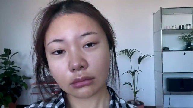 Güney Koreli YouTuber Hyojin'in makyajla değişimi!