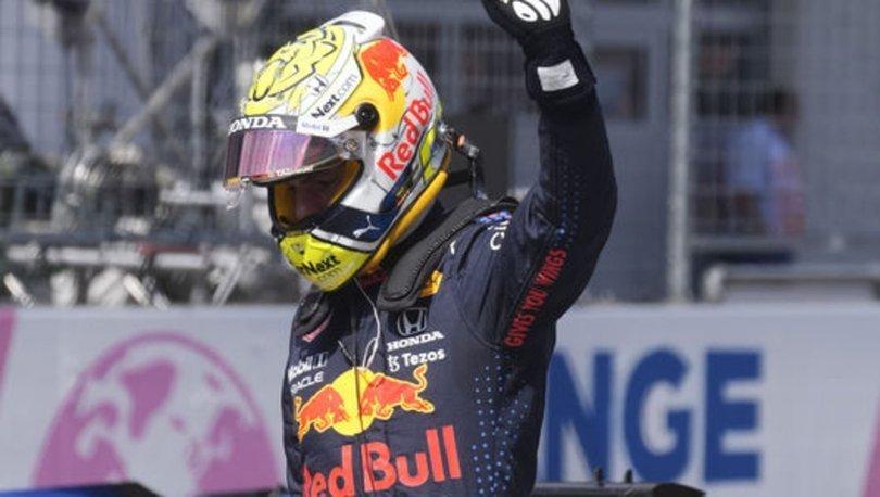 F1 Avusturya Grand Prix'sinde pole pozisyonu Verstappen'in