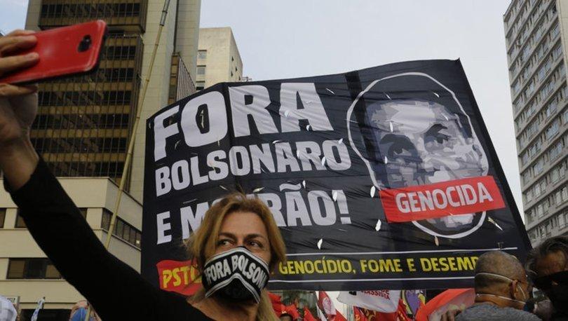 Brezilya'da Devlet Başkanı Bolsonaro karşıtı gösteriler düzenlendi
