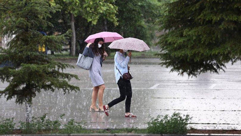 YAĞMUR GELİYOR! Son Dakika: Meteoroloji'den bu iller için sağanak yağmur uyarısı - Haberler