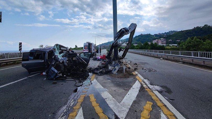 Katliam gibi kaza: 2 ölü, 4 yaralı! - Haberler