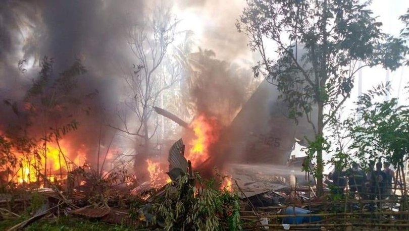 SON DAKİKA: Filipinler'de askeri uçak düştü! - Haberler
