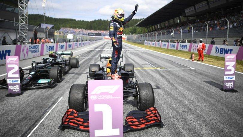 F1 Avusturya Grand Prix'sinde zafer Max Verstappen'in