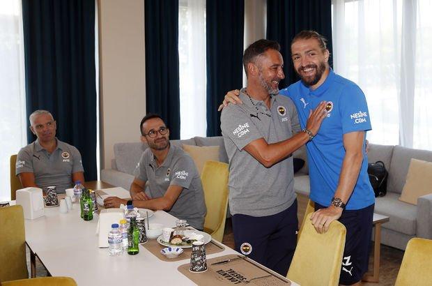 Fenerbahçe paylaştı! Pereira ve Caner...