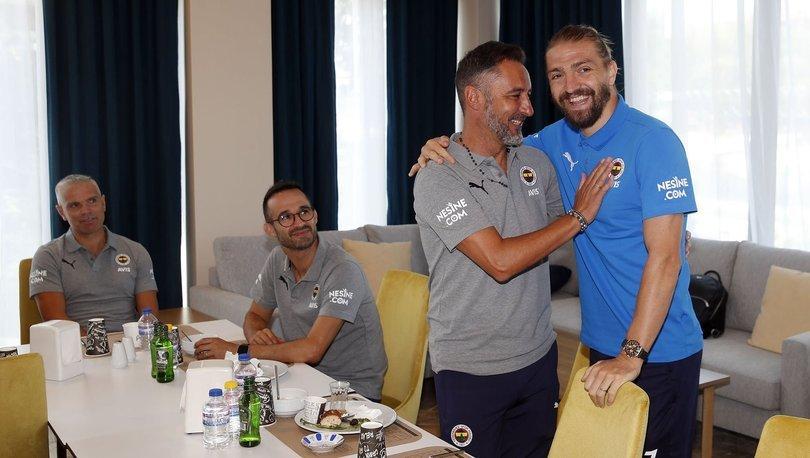 Fenerbahçe Haberleri - Pereira, Caner Erkin ile buluştu