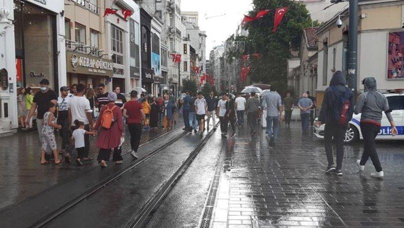 SAĞANAK! Son dakika hava durumu: İstanbul'da etkili sağanak! - VİDEO HABER