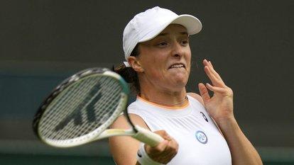 Iga Swiatek, Wimbledon'a veda etti