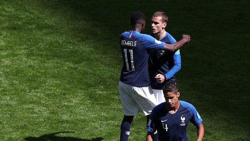 Fransız futbolcular Griezmann ve Dembele'nin ırkçılık skandalı kamerada