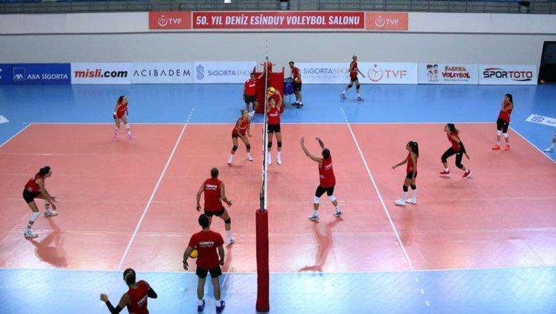 A Milli Kadın Voleybol Takımı, Tokyo Olimpiyatları hazırlıklarına başladı