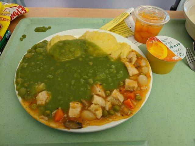 SON DAKİKA: İnternet kullanıcıları paylaştı! Ülke ülke hastane yemekleri - Haberler