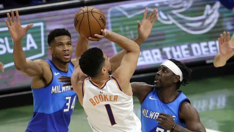 Bucks ikinci, Suns ilk NBA şampiyonluğu için sahaya çıkacak