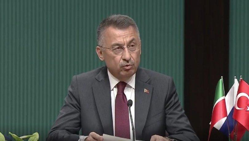 Cumhurbaşkanı Yardımcısı Oktay, Ulaştırma ve Altyapı Bakanı Karaismailoğlunu kabul etti