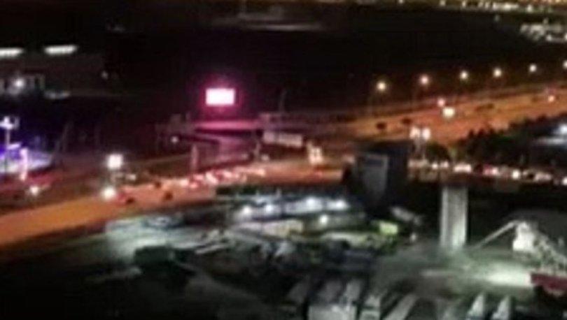 Son dakika... ABD askerlerinin de bulunduğu Erbil Havaalanı'na füzeli saldırı