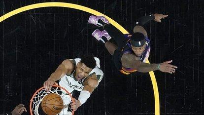 Final serisinde ilk maç Suns'ın
