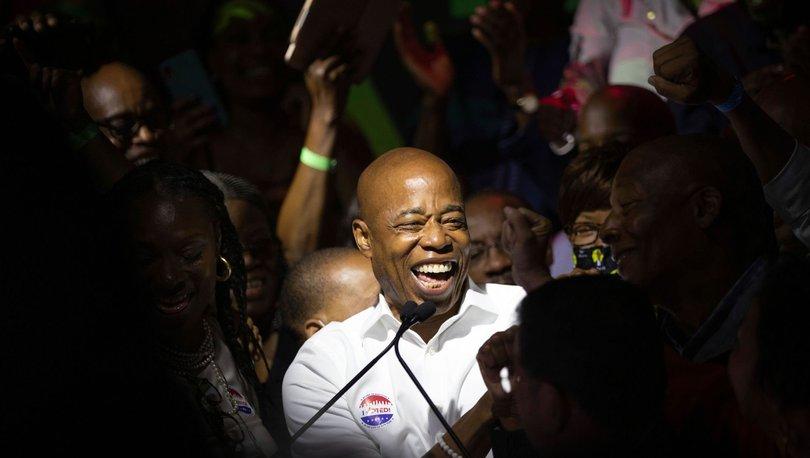 New York Belediye Başkanlığı ön seçimlerini Brooklyn İlçe Başkanı Eric Adams kazandı