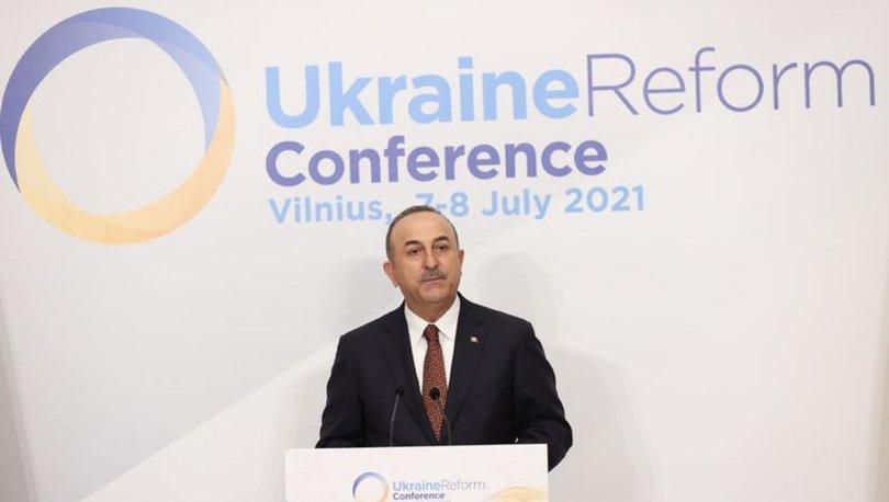 Dışişleri Bakanı Çavuşoğlu, Dördüncü Ukrayna Reform Konferansı'nda katılımcılara hitap etti - Haberler