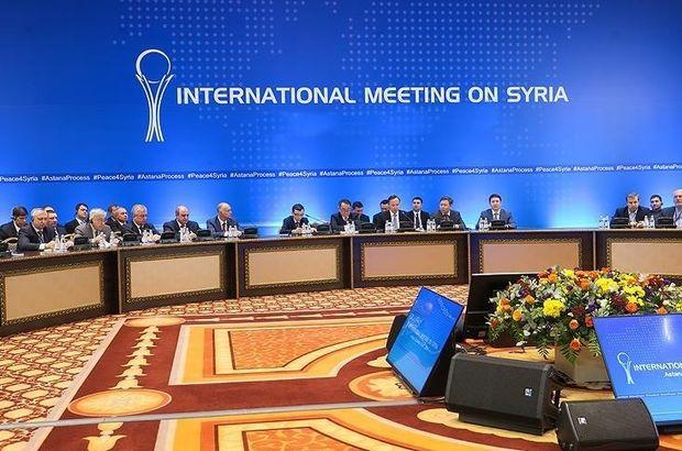 Suriye konulu 16. Astana görüşmeleri başladı