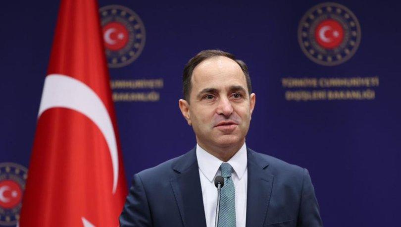SON DAKİKA: Dışişleri Bakanlığı Sözcüsü Bilgiç'ten Yunanistan Dışişleri Bakanı Dendias'a tepki!
