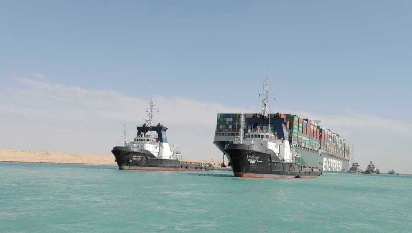 Süveyş Kanalı'nda krize neden olan gemi yaklaşık 3,5 ay sonra Mısır'dan ayrılıyor
