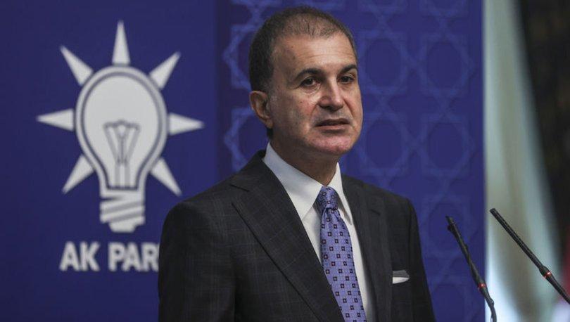 Son dakika: AK Parti Sözcüsü Ömer Çelik'ten ABD ve Yunanistan'a tepki