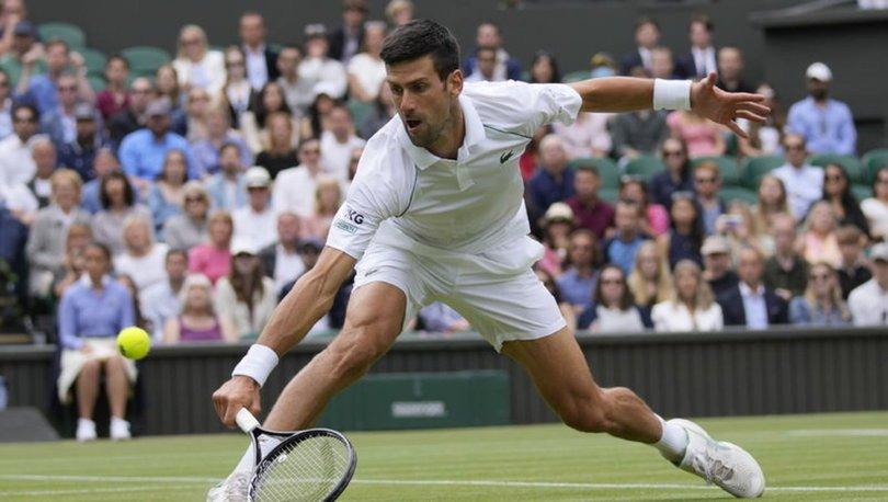 Djokovic ve Shapovalov, Wimbledon'da yarı finale çıktı