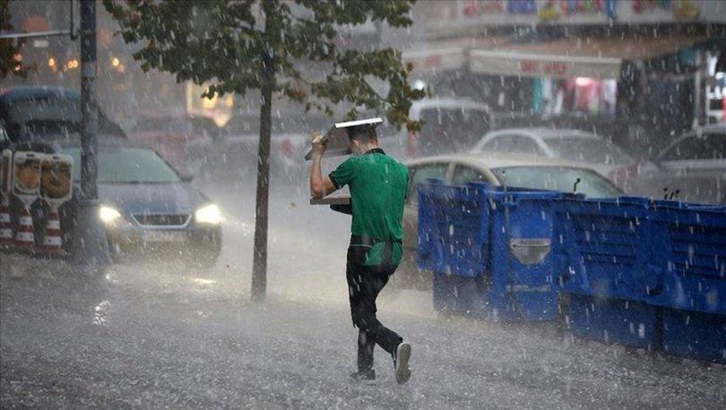 Meteoroloji'den Marmara'nın doğusu için kuvvetli yağış uyarısı