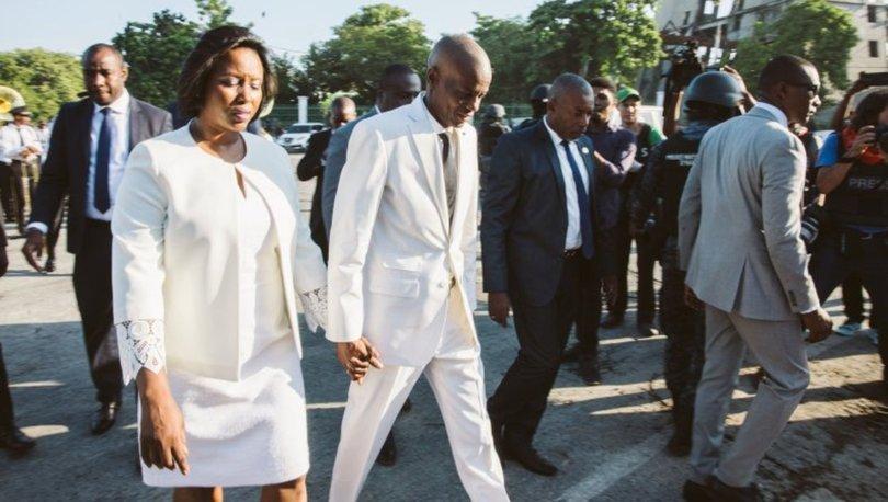 Suikast ile öldürülen Haiti Devlet Başkanı Moise'nin ağır yaralı eşi Martine Moise, ABD'ye nakledildi