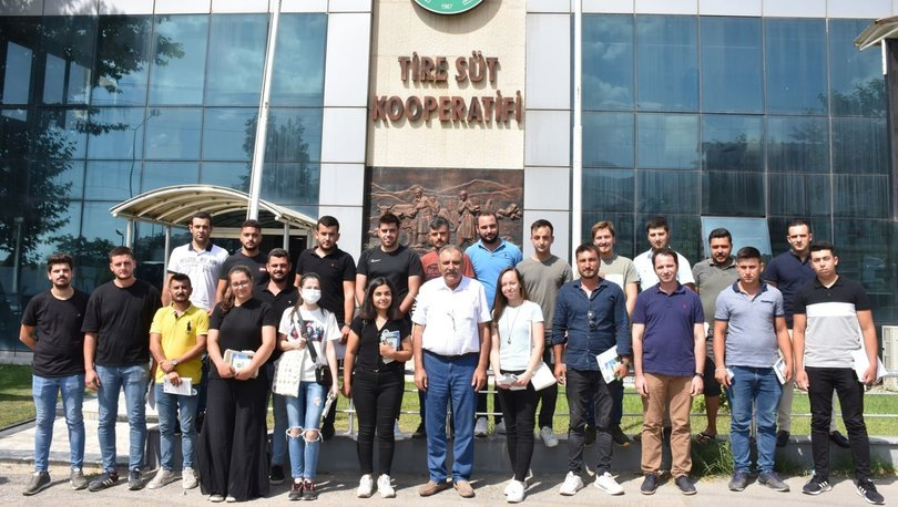 Tire Süt Kooperatifi'nden geleceğin liderlerine eğitim programı