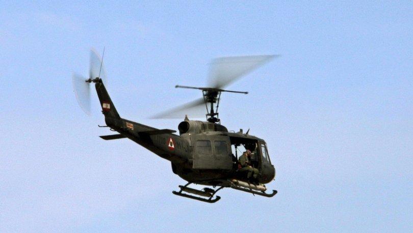 Lübnan'da eğitim uçağı düştü: 3 kişi hayatını kaybetti