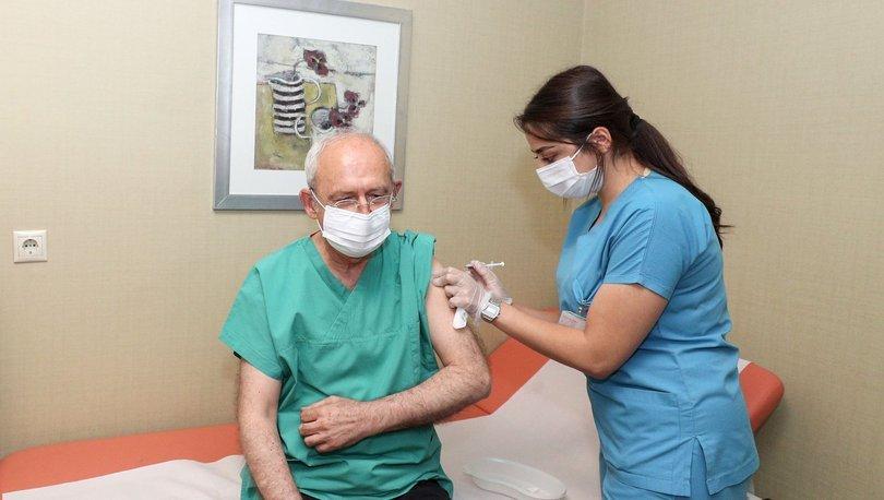 Kılıçdaroğlu, 3. doz koronavirüs aşısını yaptırdı
