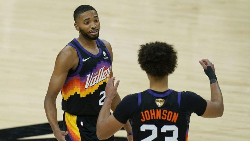 Milwaukee Bucks'ı yenen Phoenix Suns, NBA final serisinde durumu 2-0 yaptı