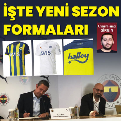 İşte Fenerbahçe'nin yeni sezon forması
