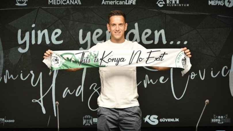 Konyaspor, Hadziahmetovic ile sözleşme yeniledi