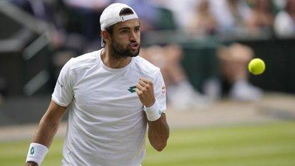 Wimbledon'da ilk finalist Berrettini