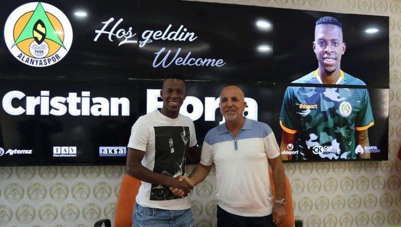 Alanyaspor, Kolombiyalı sol bek Cristian Borja'yı kiraladı