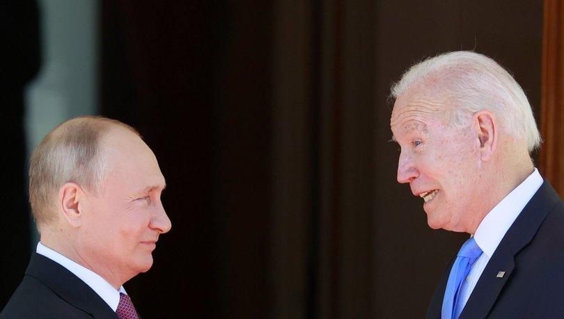 ABD Başkanı Biden, Rusya Devlet Başkanı Putin ile son siber saldırıları ve Suriye'yi görüştü