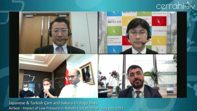 Çam ve Sakura'da Japon cerrahlara robotik ameliyat eğitimi