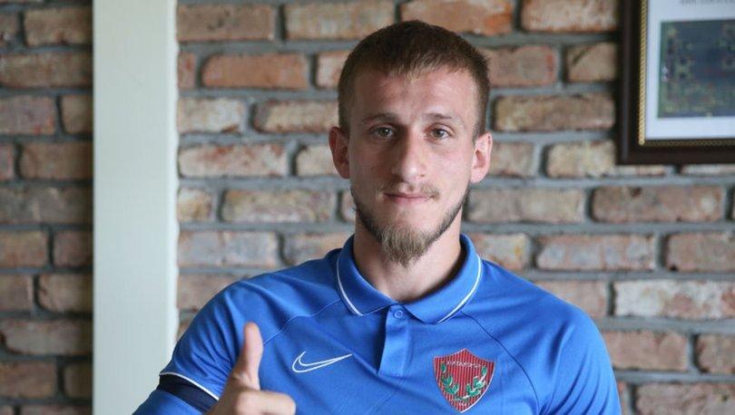 Hatayspor'un yeni transferi Osman Şahin, hedeflerine Akdeniz ekibinde ulaşacağına inanıyor