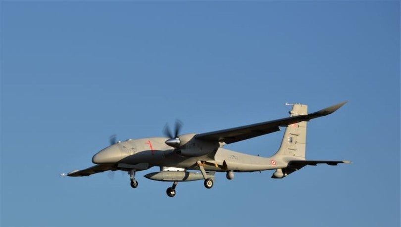 Akıncı TİHA 1.4 ton yük ile 13 saat 24 dakika uçtu