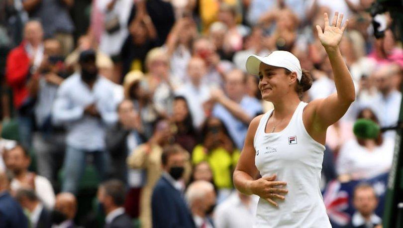 Wimbledon'da tek kadınların şampiyonu Barty oldu