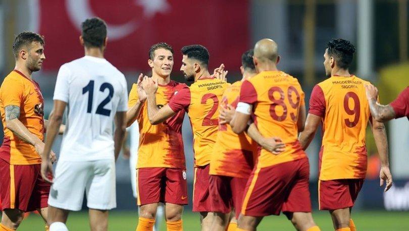 Galatasaray, hazırlık maçında Kasımpaşa'yı 4-2 yendi